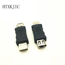 6 Pin Female Firewire IEEE 1394 to USB Male Adaptor Convertor wholesale(China)