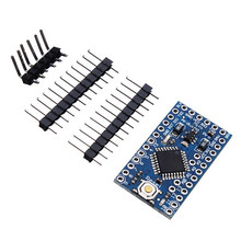 1PC New Arrival 3.3V 8MHz ATmega328P-AU Pro Mini Microcontroller Board With 8pcs Analog Input Pins 33.3 x 17.6mm(China)