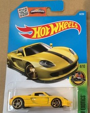 Hot Wheels Alloy Mini Roadster Diecast Cars Carrera GT For Collection Wholesale Metal Cars Hot Wheels 1:64(China)