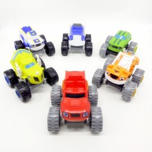 Blaze Machines Toys Vehicle Car Trucks Model Machines Racing Car Toys Mud Racin Pickle Darrington Kids Toy Gift
