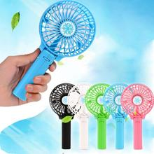 Mini Portable Foldable Handheld Cooling Fan  Battery Operated Rechargeable