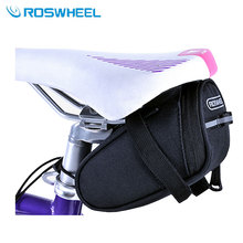 Buy Roswheel Outdoor Cycling Mountain Bike Bags Bicycle Saddle Bag Back Seat Tail Pouch Package for $5.51 in AliExpress store