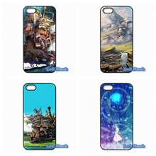 For LG L70 L90 K10 Google Nexus 4 5 6 6P For LG G2 G3 G4 G5 Mini G3S Studio Ghibli Howl's Moving Castle Case Cover(China)