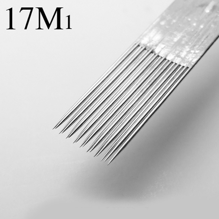 Stainless Steel Professional Tattoo Needles 17M1 Disposable 50pcs Sterilze Tatoo Needles To Tattoo Supply