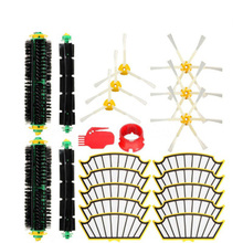22x Filter Side Brush Kit Vacuum Cleaner Parts For Irobot Roomba 500 527 528 530 532 535 540 562 570 572 580 581 590 Replacement(China)