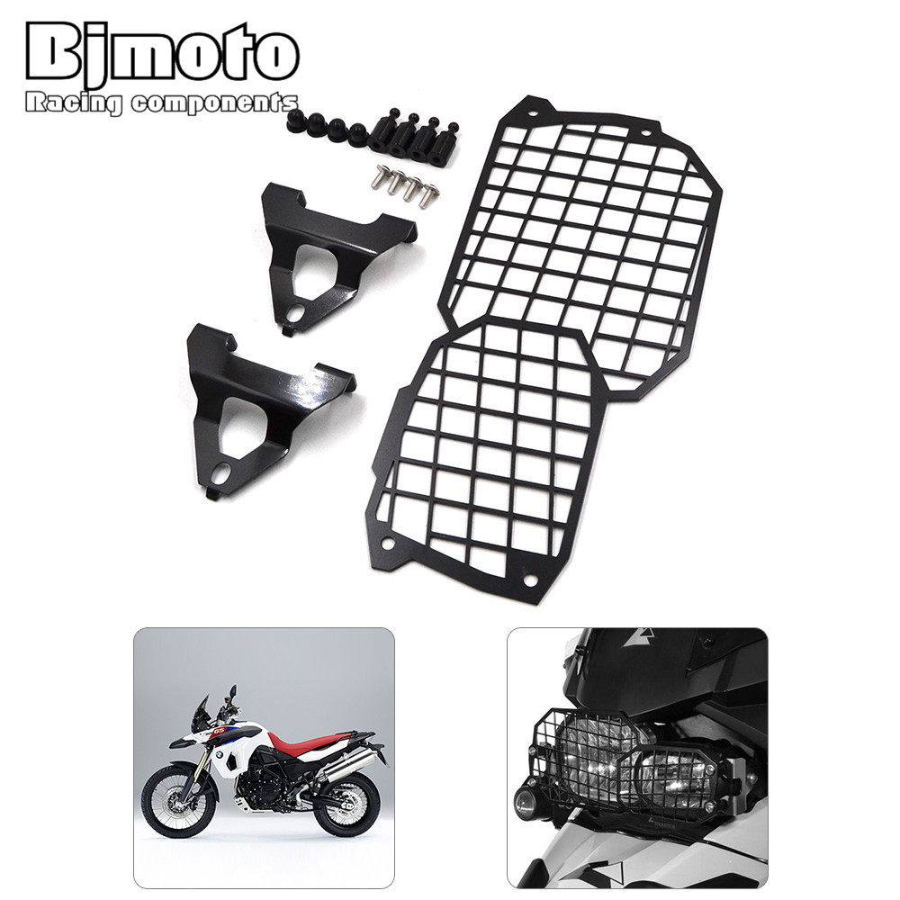 BJMOTO  Stainless Steel Motorcycle Headlight Guard Protector For BMW F800GS/ADV  F700GS F650GS-Twin 08-15 Motorbikes<br>