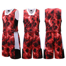 2017 new cheap basketball team jerseys custom name and number men basketball jerseys Super quality wholesale custom logo cheap(China)