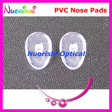 PV44  glasses eyewear eyeglasses pvc nose pads 12mm Screw-in type  glasses accessories free shipping