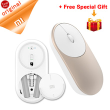 Original Xiaomi Mouse Portable Optical Wireless Bluetooth Mouse 4.0 RF 2.4GHz Dual Mode Connect for Windows 8 Win 10 Laptop pc