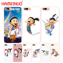 HAMEINUO agnes cell phone Cover case for iphone 6 4 4s 5 5s SE 5c 6 6s 7 8 plus case for iphone 7 X(China)