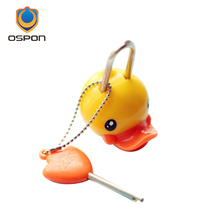 Cute little yellow duck cartoon lock, diary, drawer cabinet dormitory dedicated lock(China)