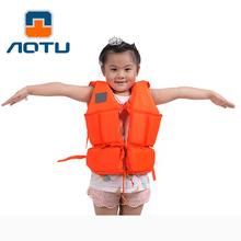 Children Surfing Life Vest Foam Thicken Safety Waterproof Child Life Jacket with Whistle for Fishing Swimming Boating Drifting