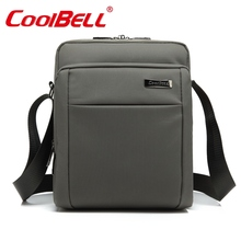 CoolBell 10 10.6 inch Tablet Laptop Bag for iPad 2/3 /4 iPad Air 2/3 Men Women Shoulder Messenger 9 9.7 10.1 inch Tablet Sleeve(China)