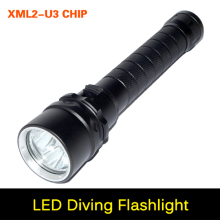 High brightness XM-L2 U3 36W 6000 lumens 3 X CREE Flashlight Professional Diving linternas Waterproof Diving Flashlight