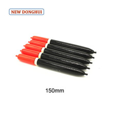 Newdonghui 10pcs/Lot Fishing Float Fishing Bobber 150MM 110MM Length Sea Fishing Floats Can Be Threaded Oem Factory Store 27065(China)