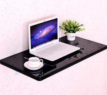 70*50CM Wall Mount Laptop Table Modern Wood Folding Table Wall Hanging Dining Table Children Study Desk(China)
