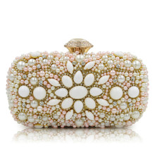 Evening Bags Women Clutch Bags Evening Clutch Bags Wedding Bridal Handbag Singer Side Beaded Fashion Rhinestone Purse Sg123