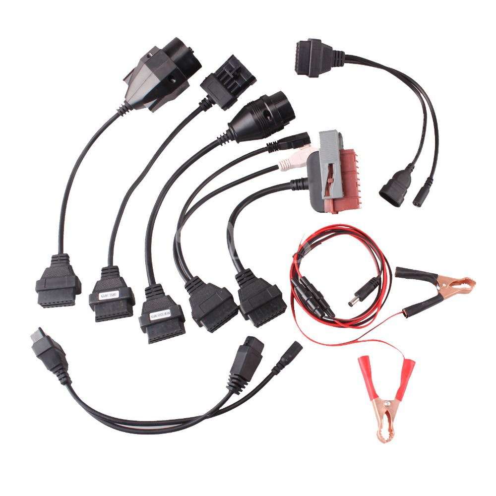 8x OBD2 Test Cables For AUTOCOM CDP Pro OBDII Cars Diagnostic Interface Scanner Set Free Shipping<br>
