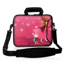 "13"" Pink Girl Shoulder Briefcase Bags PC Laptop Messenger Bag 13.3"" Anti-shock Briefcase For 12.8 13 13.3 inch Computer Handbag"