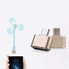 Mini Micro USB To USB 2.0 OTG Adapter Converter Hub Converters Camera Tablet MP3 Cable for Xiaomi Samsung Galaxy S3 S4 Sony LG