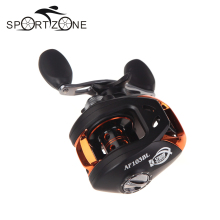 2 Colors Fishing Reels 10+1BB Ball Bearings Left/Right Hand Fishing Wheel Bait Casting Fishing Reels High Speed 6.3:1