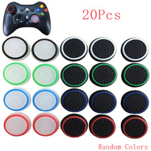 20x Silicone Thumb Stick Joystick Grip Controller Cover Cap For Sony PlayStation PS 3 4 2 PS4 PS3 PS2 Xbox 360 One Accessories