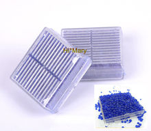 2 PCS blue Silica Gel Desiccant Humidity Moisture Absorb Box Reusable Packing Supply
