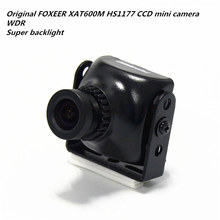 "Original FOXEER XAT600M HS1177 CCD mini camera WDR Super backlight for DIY FPV mini drone QAV-R / QAV-X / Allen 5"" quadcopter"