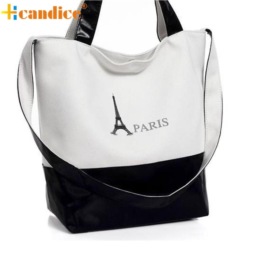 Naivety 2016 New Women Fashion Canvas Shoulder Handbag Lady Patchwork Tote Bag JUL13 drop shipping<br><br>Aliexpress