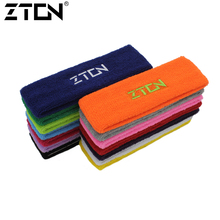 ZTON High Quality Cotton Sweat Headband For Men Sweatband women Yoga Hair Bands Head Sweat Bands Sports Safety(China)