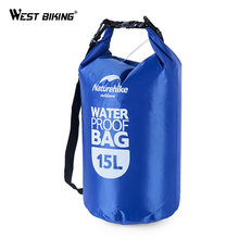 WEST BIKING trekking Bag Cycling Capacity 15 L and 25 L Rafting Waterproof Bag River Trekking Necessary Cycling Storage Bag(China)