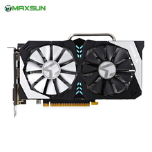 MAXSUN GTX1050 GetForce GTX 1050T Terminator Video Computer Graphics Card 7000MHz DirectX 12 For Miner Windows XP Vista Linux(China)