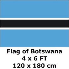 Botswana Flag 120 x 180 cm 100D Polyester Large Big Botswanian Flags And Banners National Flag Country Banner