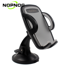 NOPNOG Phone Holder for Car Windshield Dashboard Universal Mobile Phone Mount Stand GPS Holders Support for iphone Xiaomi Huawei(China)