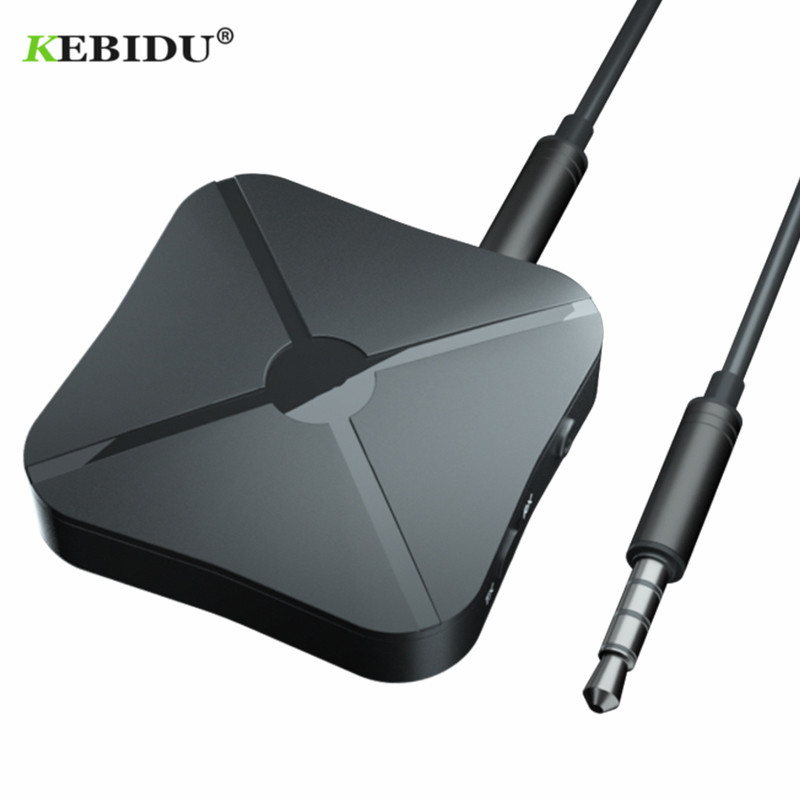 Kebidu 2 IN 1 Bluetooth 4.2 Receiver and Transmitter Bluetooth Wireless Adapter Audio With 3.5MM AUX Audio For Home TV MP3 PC(China)