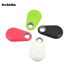 kebidu Hot selling Anti-lost alarm Smart Tag Bluetooth Tracker Child Bag Wallet Key Finder GPS Locator Alarm for Andriod iphone(China)