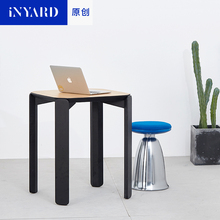 [InYard original] 0.6 meters high, side table, Nordic modern design, a few sitting room study tea table computer table(China)