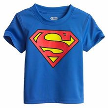 2017 Cartoon Printing Superman Short Sleeve T-Shirts Fashion Cotton Children Kids Baby Boys T Shirts Tops Child Clothing 22