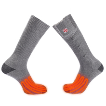 Savior heat 3.7V battery heated Cotton sock winter Warm fishing Soft washable Forefoot toes Soles of the feet heating men women(China)