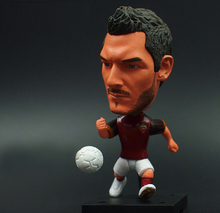 KODOTO SoccerWe Roma Totti Football Soccer Moveable Star Collection Dolls Toy Figures
