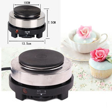 New 220V 500W MINI stove Electric Hot Plates Multifunction cooking plate kitchen portable coffee heate Multifunction Hot Plates(China)