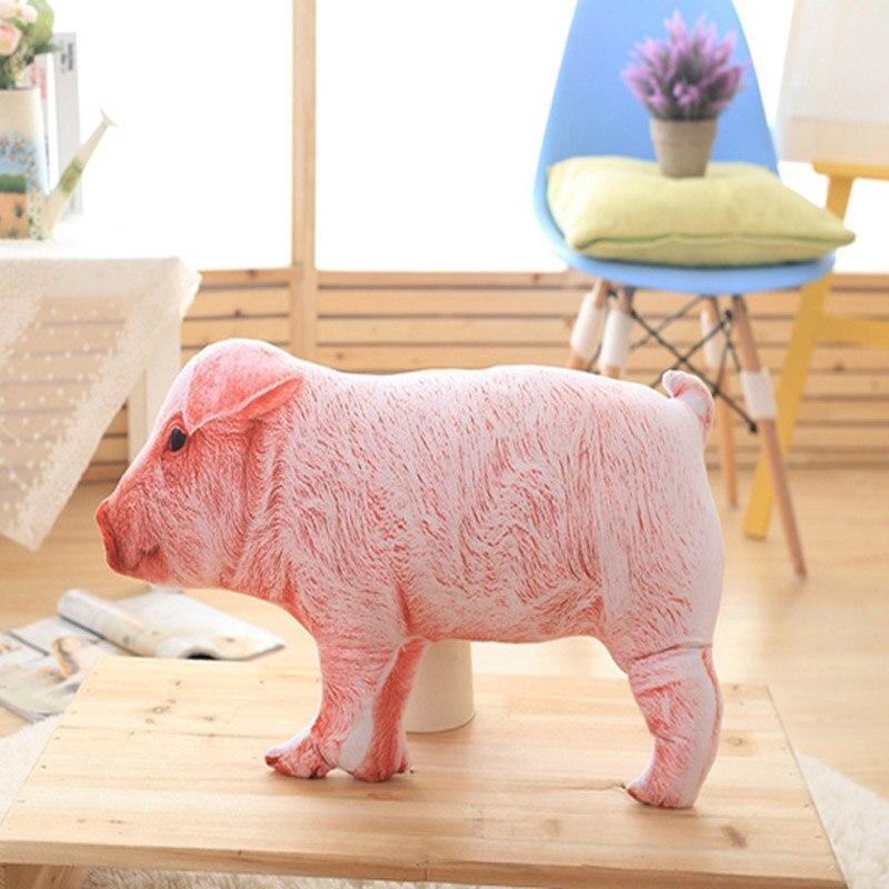 60cm Lovely 3D Plush Piggy Toys Animal Pig Pillow New PP Cotton Stuffed Children Birthday Christmas Gifts TY0187<br><br>Aliexpress