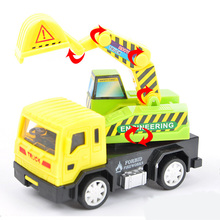 1:60 Mini Pull Back Engineering Vehicles ABS Resin Toy Car Children Toy Diecast Model Car Best Gife For Kids(China)