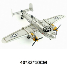 Collection Brand New Plane Model Toys World War II USA B-25 Mitchell Bombers Diecast Metal Plane Model Toy For Gift