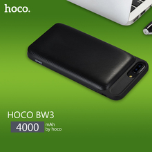 HOCO Power Bank  4000mAh Cige Back Clipped PowerBank Lithium Polymer Core With LED Indicator For iPhone 6Plus 6sPlus 7Plus(China)