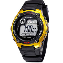 Children Relojes Fashion Sports Electronic Wrist Watches Waterproof Digital Watch for Kid Girl's Boy's