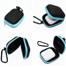 Earphone Accessories Protective Case Cover Bag Mini Carrying Pouch Box with Carabiner for Apple AirPods Earphones(China)