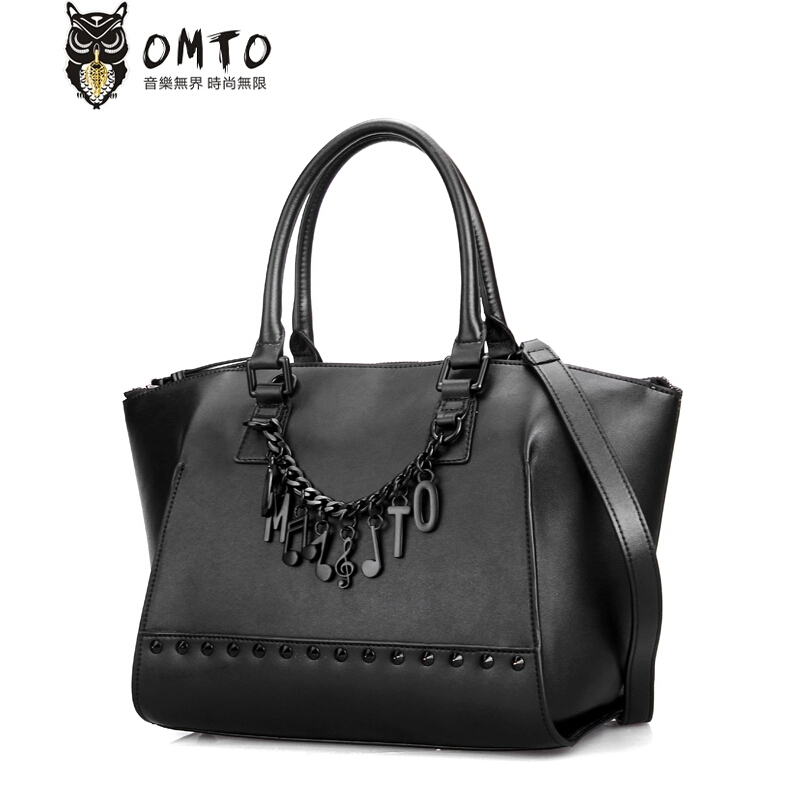 famous brands top quality women leather brabds bag fashion women handbags leather shoulder messenger bags black<br><br>Aliexpress