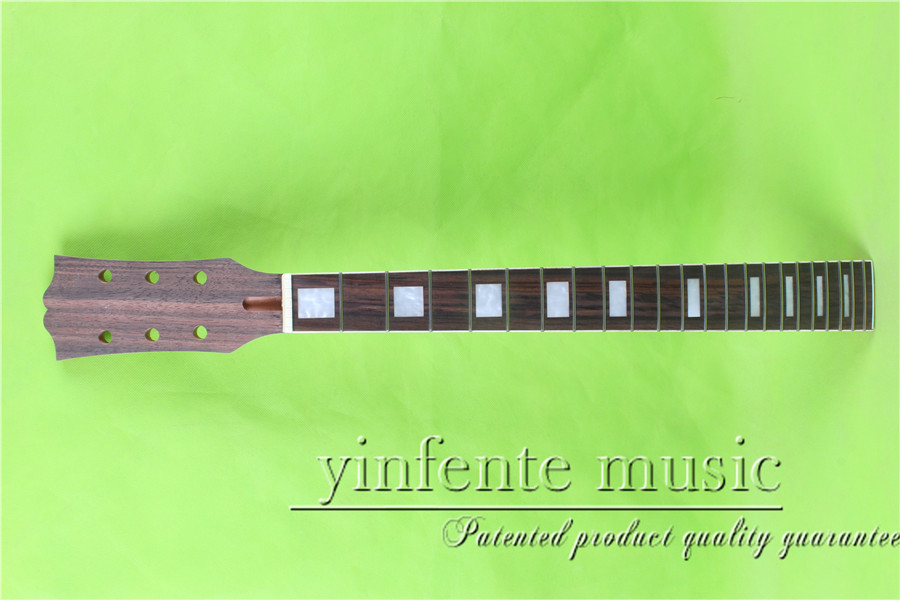 22 fret   24.75 unfinished  Electric guitar neck mahogany  made  and  rosewood    fingerboard fine quality <br>