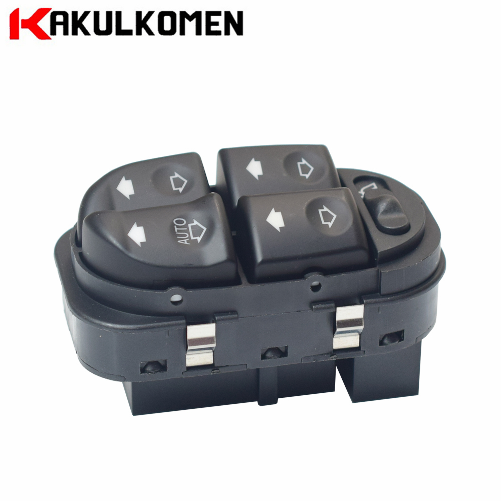 97BG 14A132 AA 97BG14A132AA LHD Electric Window Master Control Switch Button For Ford Mondeo II MK2 1996-2000 97BG-14A132-AA(China)